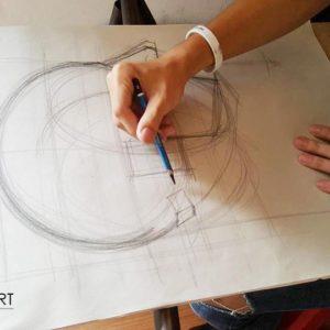 วาดเส้นมัณฑนศิลป์